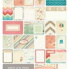 40% off at hobby lobby w coupon: project life summer themed cards