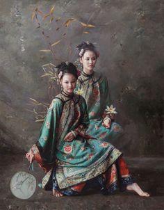 Mingyue Wang  Miss  2015  160 x 125 cm