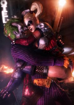 Arkham's Beautiful Couple