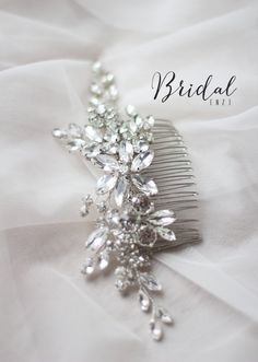 Hey, I found this really awesome Etsy listing at https://www.etsy.com/listing/505504507/bridal-hair-comb-rhinestone-hair-clip