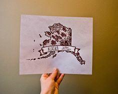 state bird prints