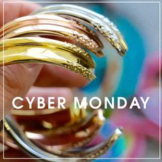 Missed #BlackFriday? Today is your lucky day! Save up to 50% off gold and rose gold products site wide (including #athleisure gold and rose gold bracelets) + 30% off forever lipstick!   mariashireen.com  #CyberMonday