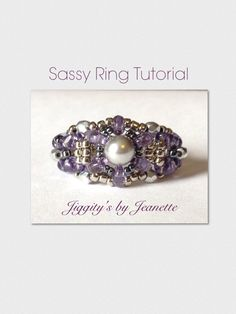 Sassy Ring Tutorial by JiggitysTutorials on Etsy, $4.00