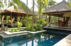 Tropical Balinese Architecture