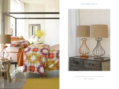 LoftHome Moderne & Symmetry Percale Bedding, Studio Lamp Base