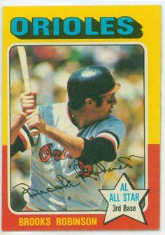 Baseball Card Show Purchase – Brooks Robinson 1975 Topps Baseball Card Red Wing Minnesota, Minnesota Twins, Baseball Tops, Baseball Uniforms, Mlb Players, Baseball Players, Baseball Card Values, Baseball Cards, Baltimore Orioles Baseball