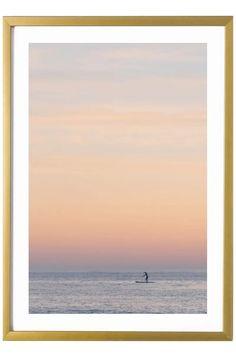 California Print - Laguna Beach Art Print - The Paddleboarder