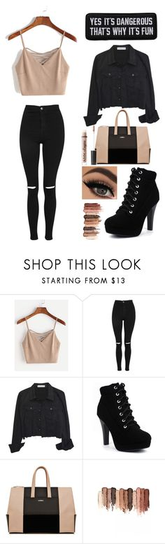 """""""My style"""" by keren300 ❤ liked on Polyvore featuring Topshop, La Perla, tarte and Charlotte Russe"""