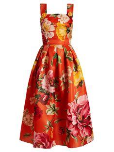 Summer Fashion For Ladies Over 50 .Summer Fashion For Ladies Over 50 Pretty Dresses, Beautiful Dresses, Mode Pin Up, Day Dresses, Summer Dresses, Floral Dresses, Quoi Porter, Dolce & Gabbana, Orange Dress