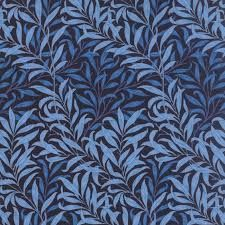 The Morris Jewels by Barbara Brackman for Moda Tonal Sapphire // Moda Fabrics at Juberry Patchwork Fabric, Green Fabric, Fabric Wallpaper, Pattern Wallpaper, Branch Decor, Arts And Crafts Movement, William Morris, Letters And Numbers, Cotton Quilts