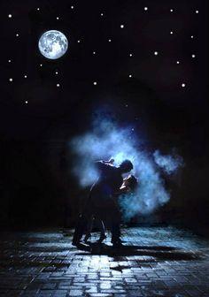 Love is ... Dancing in the moonlight
