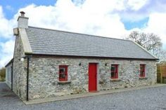 The Visiting House Gorteen, Galway, Dunmore, Ireland from the Country Cottages Online Collection Cottage Breaks, Dog Friendly Holidays, Ireland Holiday, Rural Retreats, Farm Stay, Holiday Apartments, River House, Renting A House, Cottage Style