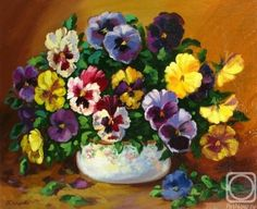 Mixed Pansies (30 pieces)Image copyright: ewa bartosik