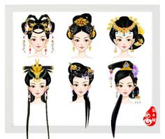 Origami, Traditional Hairstyle, Star Costume, Fashion Words, China Art, Anime Hair, Ancient China, Doll Repaint, Character Costumes