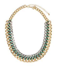 Chain necklace. #ACCESSORIZEINHM