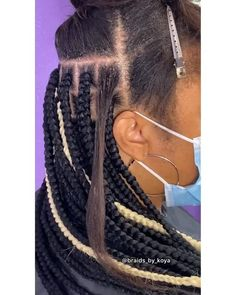 Black Girl Braided Hairstyles, Dope Hairstyles, Kids Braided Hairstyles, Little Mixed Girl Hairstyles, African Braids Hairstyles, Box Braids Tutorial, Hair Extensions Tutorial, Braid In Hair Extensions, Hair Twist Styles