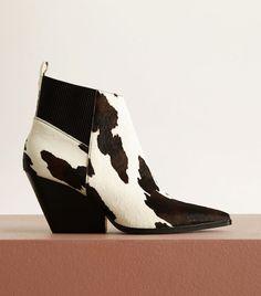 Mango Cowboy Boots