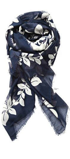 ~Marc Jacobs 2014, Printed Cotton and Silk Scarf | House of Beccaria