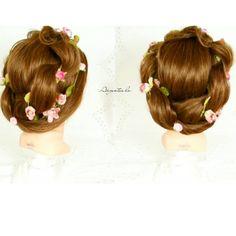 "202 Me gusta, 2 comentarios - Argentea lo (@braids_for_my_hair) en Instagram: ""Flower Crown Hair 🌸 next the video on my Youtube Channel ➡ Argentea lo ⬅  Follow…"""