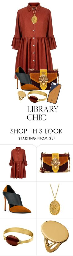 """F is for Fashion"" by shamrockclover ❤ liked on Polyvore featuring Mela Loves London, Prada, Balmain, Dyrberg/Kern, Links of London and Native Union"
