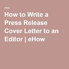How To Make The Perfect Cover Letter How To Make A Perfect Cover Letter  Biz  Pinterest  Perfect