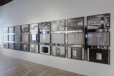 Der Beitrag space : relfections zur Ausstellung TIME SPACE EXISTENCE stellt Ingo Schraders freie künstlerischen Arbeiten einer Auswahl seiner Architekturprojekte gegenüber. | Foto und Video: Ingo Schrader