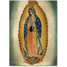 Trademark Fine Art The Virgin Canvas Art by Masters Fine Art, Size: 24 x 32, Bronze