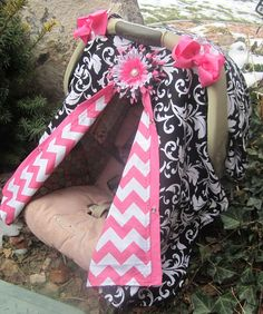 Baby Carseat Canopy Free Shipping Code Today Via Etsy
