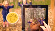 The making of the new augmented Gruffalo Spotter app - Great for fun with the kids