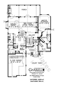 Bungalow Craftsman House Plan 87574 Pinterest House plans