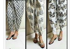 Embroidered Tulip pants, Printed Tulip Pants, Pakistan tulip pants fashion 2016, New tulip fashion, Tulip Pants & Shalwar with Medium Length Shirt