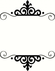 Monogrammed frame idea Frame K Vinyl Decal | Car Decal | Borders & Frames Decals | The Wall Works