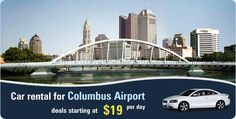To move around the city Columbus or see the tourist place, Hire a car at Columbus Airport.
