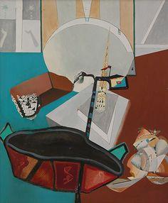 History of Art: Enrico Donati - Une des feuilles chante la priere All Art, Surrealism, History, Classic, Derby, Historia, Classical Music