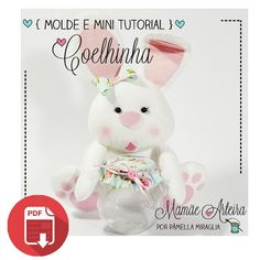 free pdf template for making this super cute bunny. From a Silhouette Brasil designer. Think this would be super cute out of cotton or felt....neither of which are a problem cutting with the Cameo or Curio....(might use deep blade for thick felt but cotton absolutely no problem!)