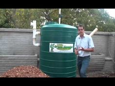 Biogas digester - Introduction - The Little Green Monster - Wally Weber - YouTube