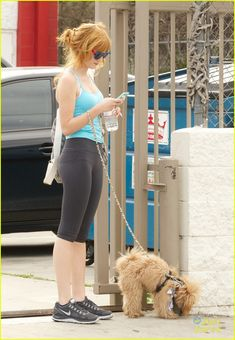 : Photo Bella Thorne checks the messages on her phone after a workout on Sunday afternoon (March in Los Angeles. My Own Worst Enemy, Bella Throne, Monday Workout, Famous In Love, The Duff, Athletic Wear, Celebrity Gossip, American Actress