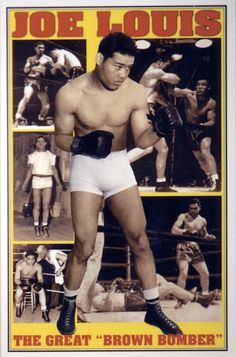 Detroit legend Joe Louis, Heavyweight Champion of the World! The Brown Bomber was born May 1914 and spent 140 consecutive months as the reigning heavyweight champ from 1937 to Joe Louis, Mma, Boxing Posters, Boxing History, Champions Of The World, Boxing Champions, Sport Icon, Sports Figures, Sports Stars