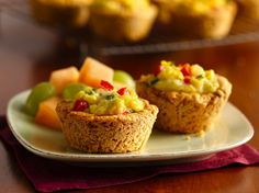 ~Southwestern Scramble Biscuit Cups ~ Serve these savory baked biscuits made using Bisquick® mix filled with eggs and veggie mixture - a delightful bread. Perfect if you love Southwestern cuisine.