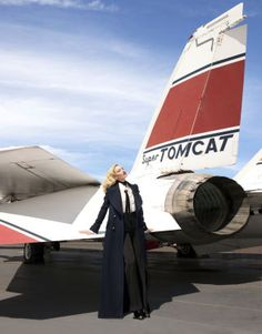 Candice Swanepoel takes flight in the best of fall 2015 fashion, photographed by Terry Richardson. See the full fashion shoot here.