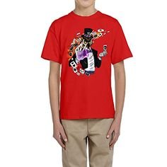 GOOOET Kids Vanoss Gaming Cotton Shirt Red S * Want additional info? Click on the image.