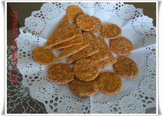 Snack de aperitivo de pimentón y queso