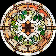 Medallón con mosaicos, hermosos