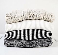 gray cable knit, white, black and white striped, and gray sweaters. preppy, basic, casual, cozy, weekend, college, hangout, lounge, lazy day, wardrobe essential, for fall or winter.