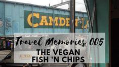 A vegan fish 'n chips? Gurl that don't make sense! Vegan Fish And Chips, Travel Memories, Travel Souvenirs
