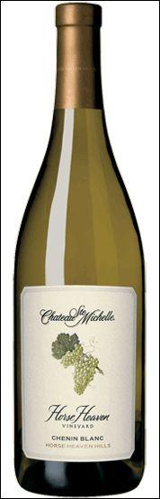 2011 Horse Heaven Vineyard Chenin Blanc, Chateau Ste. Michelle. My favorite white! Mmmmmm.