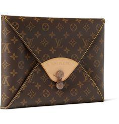 Visionaire Fashion Special Limited Edition Portfolio in Leather Louis Vuitton Case+|+MR PORTER
