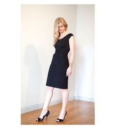 Wiggle Dress with Pockets Made in America by MelissaBellClothing
