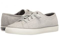 Sperry Top-Sider Seacoast Diamond Print (Grey) Women's Lace up casual Shoes