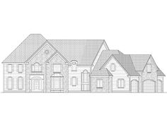 Absolute perfection!!! Love everything about it! Home Plan HOMEPW21304 - 5025 Square Foot, 4 Bedroom 4 Bathroom + Shingle Home with 4 Garage Bays | Homeplans.com